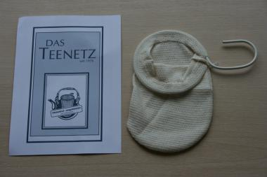 Teefilter Baumwollnetz Gr. 2 (Durchmesser 9 cm)